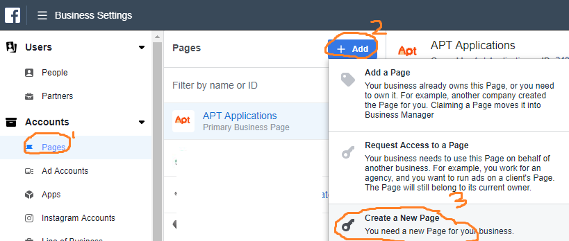 How to add a new page
